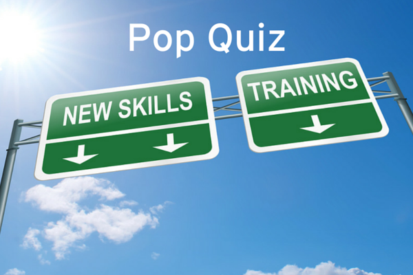 Test Your Salesforce Training Knowledge: A Pop Quiz